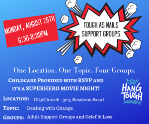 Tough As Nails Support Groups @ City Church