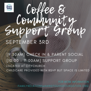 Coffee and Community Support Groups @ City Church